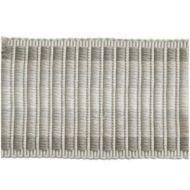 Kravet Design: Tape Trim Ottoman Band T30561.11.0 Grey Frost