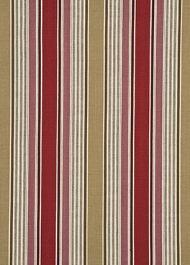 GP&J Baker: Arley Stripe BF10401.4.0 Red/Camel