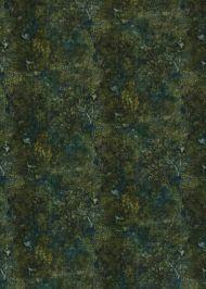 GP&J Baker: Persian Garden Velvet BP10711.2.0 Teal/Spice