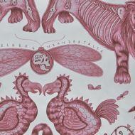 Clarke & Clarke: Extinct Print F1109-3 Magenta