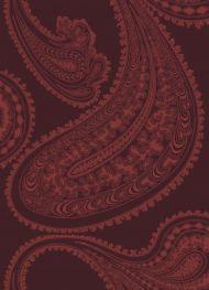 Cole & Son for Lee Jofa: Rajapur F111/10038.CS.0 Rose on Dark Crimson