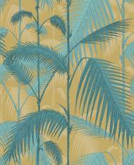 Cole & Son for Lee Jofa: Palm Jungle F111/2003L.CS.0 Ochre & Petrol