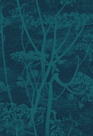 Cole & Son for Lee Jofa: Cow Parsley F111/5015.CS.0 Petrol & Ink