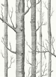 Cole & Son for Lee Jofa: Woods F111/7026L.CS.0 Black & White