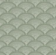 Cole & Son for Lee Jofa: Feather Fan F111/8029.CS.0 Cream on Olive