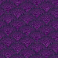 Cole & Son for Lee Jofa: Feather Fan F111/8030.CS.0 Magenta Charcoal