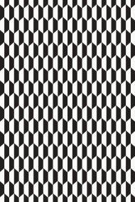 Cole & Son for Lee Jofa: Tile F111/9034.CS.0 Black & White