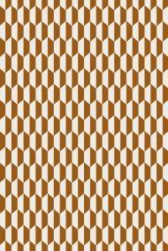Cole & Son for Lee Jofa: Tile F111/9035.CS.0 Dark Ginger Cream