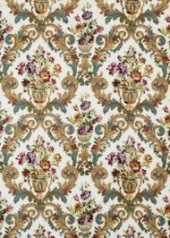 Mulberry Home: Rococo Embroidery FD272.H48.0 Fig/Teal