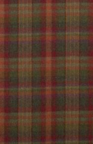 Mulberry Home: Country Plaid FD699.V156.0 Red/Lovat/Heather