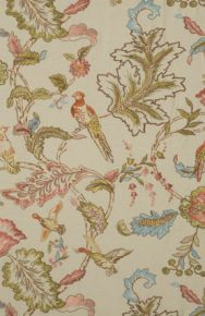 Mulberry Home: Early Birds Embroidery FD708.K101.0 Natural