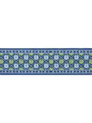 Grey Watkins for Scalamandre: Hansel Embroidered Tape GW 0004 T3329 Blackberry Fields