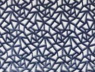 Highland Court: Aztec Velvet HU15846-89 French Blue