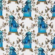 Gaston y Daniela for Kravet: Chien LCT5372.003.0 Blanco/Azul