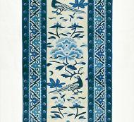 Scalamandre: Royal Peony Linen Print SC 0003 16613  Porcelain