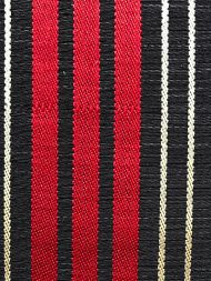 Scalamandre: Ardennais Silk Horsehair SK 0002 0107 Beige, Red & Black