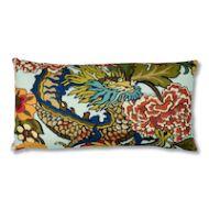 Schumacher: Chiang Mai Dragon Pillow SO17327018 Aquamarine
