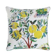 """Schumacher: Citrus Garden I/O 22"""" Pillow SO17733006 Primary"""