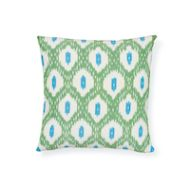 Schumacher: Indio & Presidio Ikat Pillow SO17807004 Green
