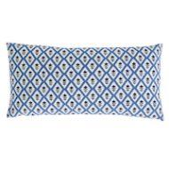 Schumacher: Bagru & Buti Pillow SO17924118 Blue