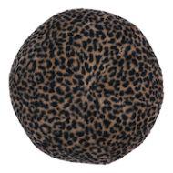 Schumacher: Lilya Leopard Sphere Pillow SO7896001 Natural