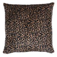 """Schumacher: Lilya Leopard 22"""" Pillow SO7896006 Natural"""