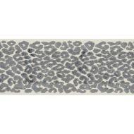Scalamandre: Leopard Velvet Tape SC 0003 T3277 Smoke