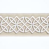 Scalamandre: Celtic Embroidered Tape SC 0001 T3282 Linen