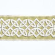 Scalamandre: Celtic Embroidered Tape SC 0004 T3282 Lettuce