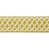Scalamandre: Helix Embroidered Tape SC 0005 T3284 Brass