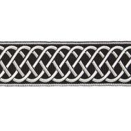 Scalamandre: Helix Embroidered Tape SC 0007 T3284 Onyx