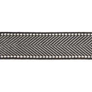 Scalamandre: Montauk Herringbone Tape SC 0010 T3285 Charcoal