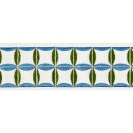 Scalamandre: Fiori Embroidered Tape SC 0005 T3288 Peacock
