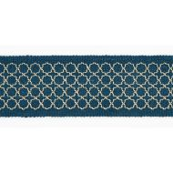 Scalamandre: Seville Embroidered Tape SC 0003 T3289 Peacock