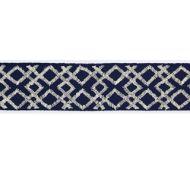 Scalamandre: Lattice Tape SC 0005 T3295 Graphite