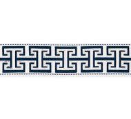 Scalamandre: Luxor Velvet Tape SC 0001 T3304 Porcelain