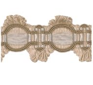 Scalamandre: Winter Palace Braid  SC 0001 V1116 White, Cream, Beige