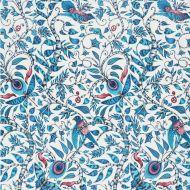 Clarke & Clarke: ROUSSEAU PRINT F1113-1 BLUE