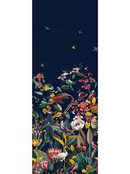 Christian Fischbacher for Scalamandre: Kotori Mural WBN 0001 9190 Dark Blue