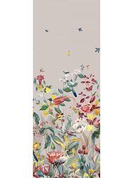 Christian Fischbacher for Scalamandre: Kotori Mural WBN 0003 9190 Light Grey