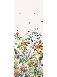 Christian Fischbacher for Scalamandre: Kotori Mural WBN 0004 9190 White