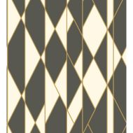 Cole & Son: Oblique 105/11049.CS.0 Black and White