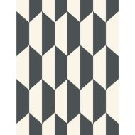 Cole & Son: Tile 105/12050.CS.0 Black and White