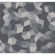 Cole & Son: Puzzle 105/2011.CS.0 Grey and Black