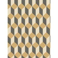 Cole & Son: Delano 105/7030.CS.0 Black and Gold