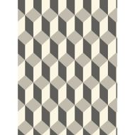 Cole & Son: Delano 105/7031.CS.0 Grey and Black