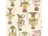 Cole & Son WP: Ardmore Khulu Vases 109/12057.CS.0 Cream & Multi