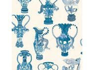 Cole & Son WP: Ardmore Khulu Vases 109/12059.CS.0 Blue & White