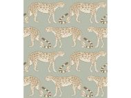 Cole & Son WP: Ardmore Leopard Walk 109/2009.CS.0 Olive & White