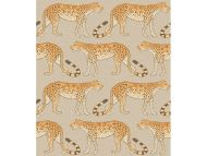 Cole & Son WP: Ardmore Leopard Walk 109/2010.CS.0 Stone & Orange